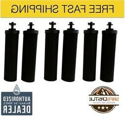 Travel Berkey Water Filter Purification Sys w/2 Black Filter