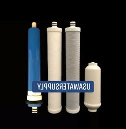 filter set with compatible membrane for ac