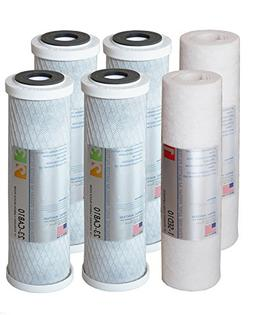 APEC FILTER-SETX2 US MADE 2 Sets of Double Capacity Replacem