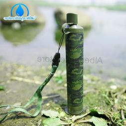 Filter Straw Portable Water Filters For Camping, Hiking or S