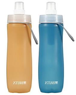Brita 20 Ounce Sport Water Bottle with 2 Filters - BPA Free