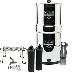 Berkey Filters Premium Stainless Steel Bundle: Black Filters