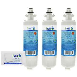 Fits LG LT700P Water Filter Replacement 3 Pack + 12 PK Magic