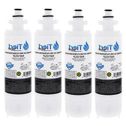 Fits LT700P LG Replacement Refrigerator Water Filter 4-Pack