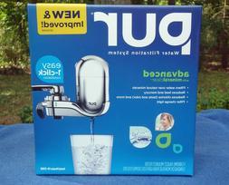 PUR FM-3700B Water Filtration System Chrome Faucet Mount Adv