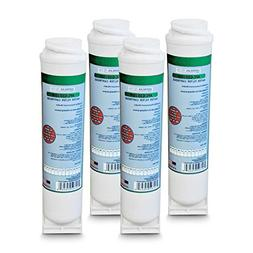 4-Pack GE FQK2J Compatible Water Filter