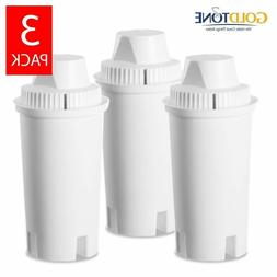GoldTone Charcoal Water Filters for BRITA and MAVEA - Repla