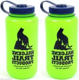 Nalgene HDPE Widemouth Loop Top 1 Quart BPA Free Bottle
