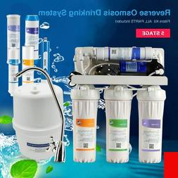 High Output Chlorine Removing RO Filtration System Water Sof