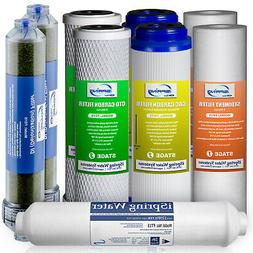 iSpring F9D 1-Year Replacement Filter Set for DI RO Water Fi