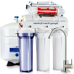 iSpring RCC7AK-UV Deluxe Under Sink 7-Stage Reverse Osmosis