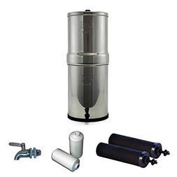Imperial Berkey Stainless Steel Water Filtration System w/ST