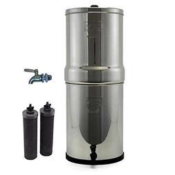 Imperial Berkey Stainless Steel Water Filtration System w/ S
