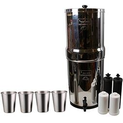 Berkey Imperial Water Filter System  w/2 Black Purifier Filt