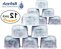 Refresh Universal Fit Charcoal Filters, Water Filter Replace