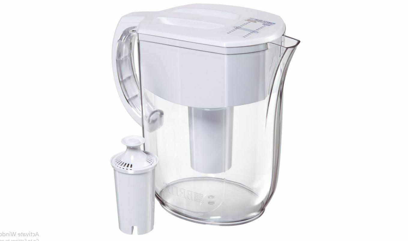 10 cup everyday water pitcher filtration