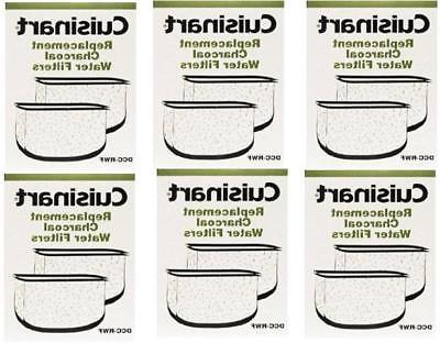 Cuisinart 12 Replacement Charcoal Water Filters in Retail 6