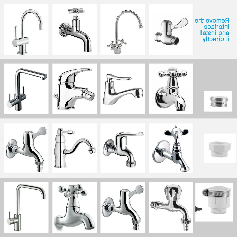 8-layer Faucet Tap System Mount Purifier