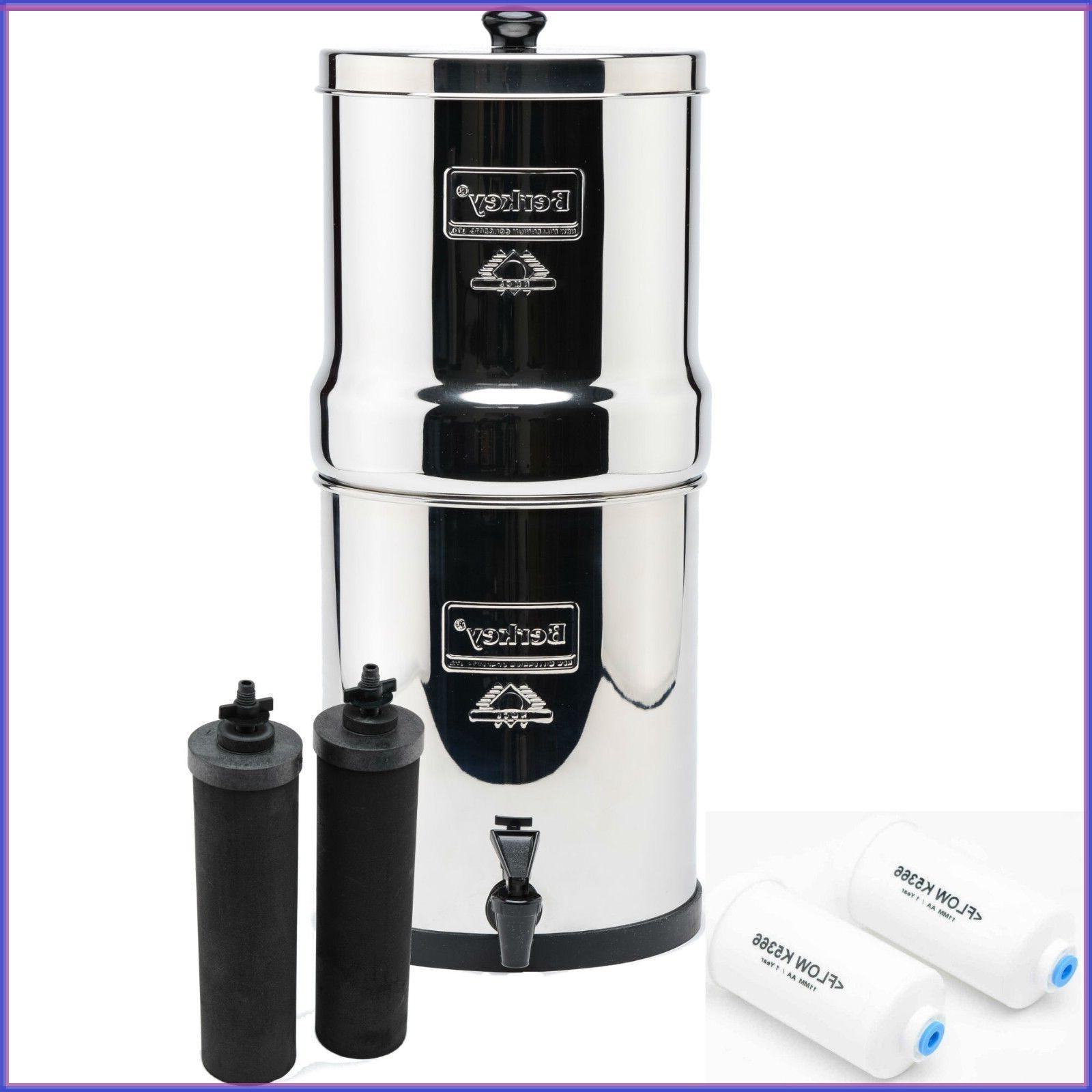 2 Big Water Filter Sys Black + PF2 Fluoride Filters/discount