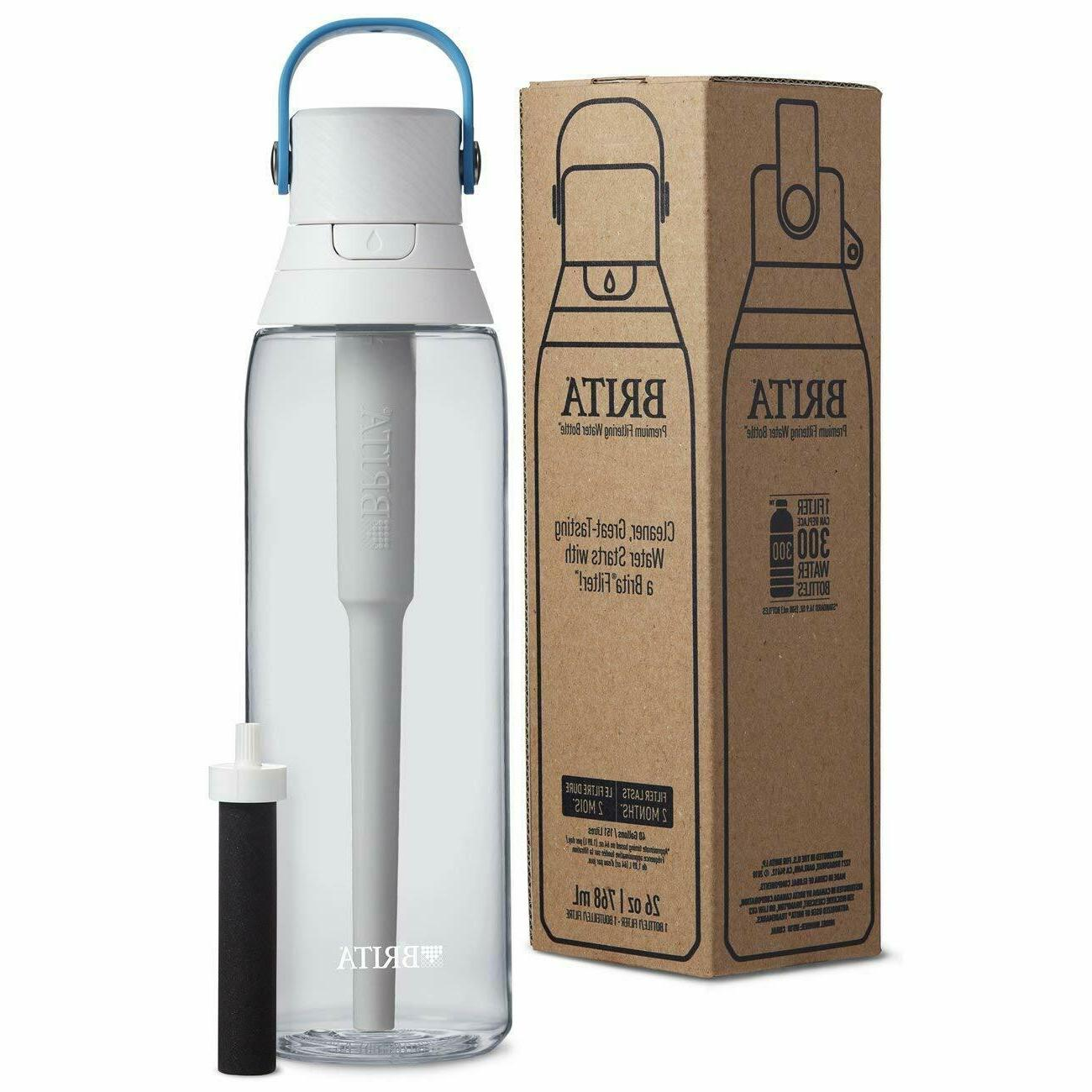 Brita 26 Ounce Premium Filtering Water with Filter