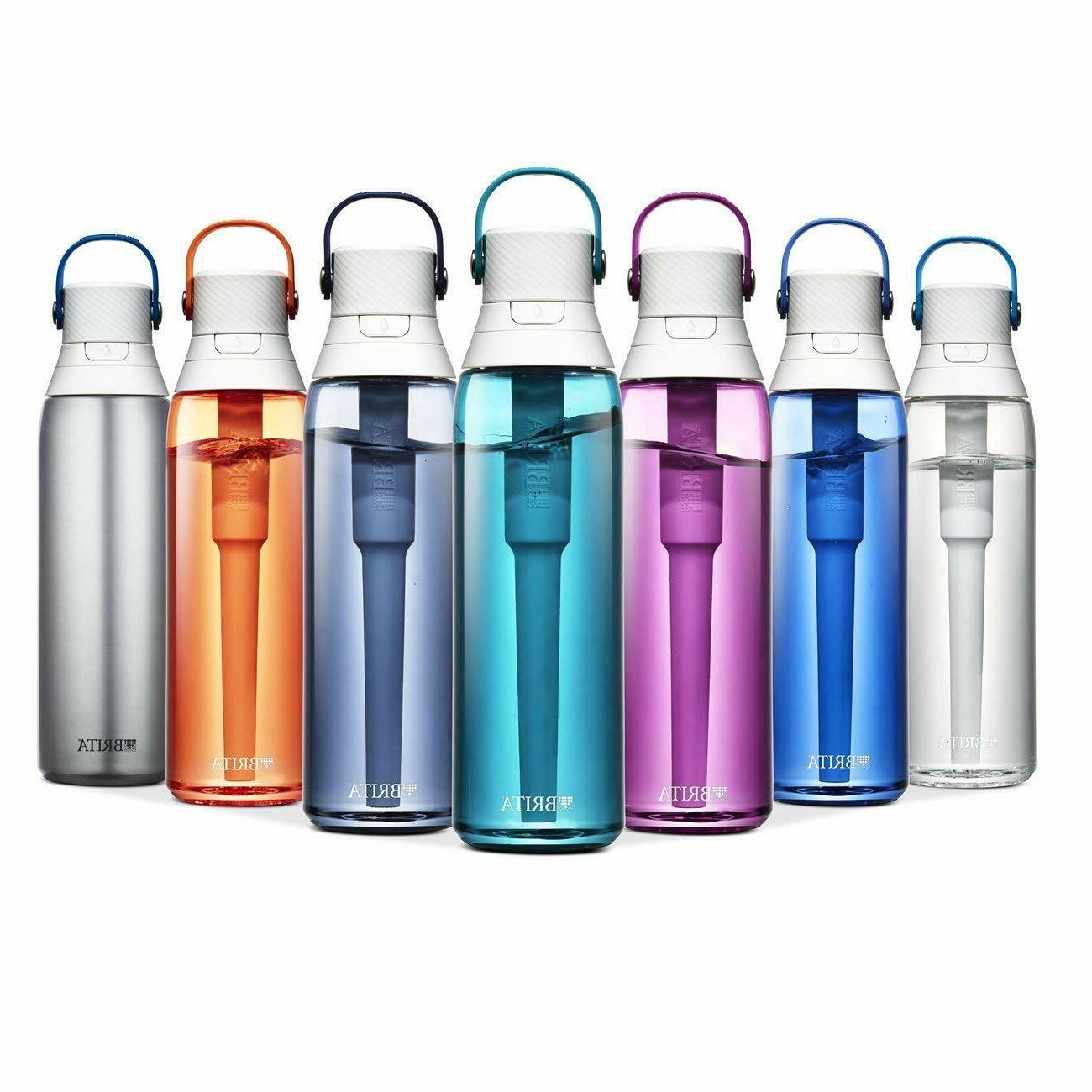 26 ounce premium filtering water bottle