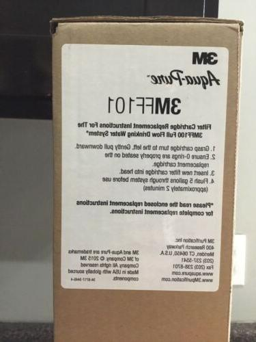 3M Replacement Cartridge Filter Model 3MFF101