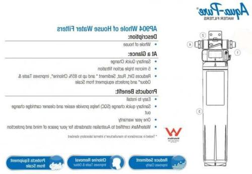 3M House Water Filtration Model