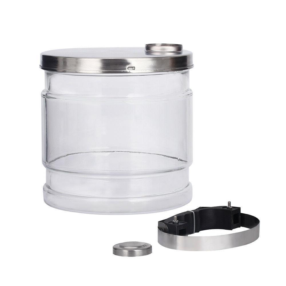 4L Pure Water Distiller Countertop Steel Bottle USA
