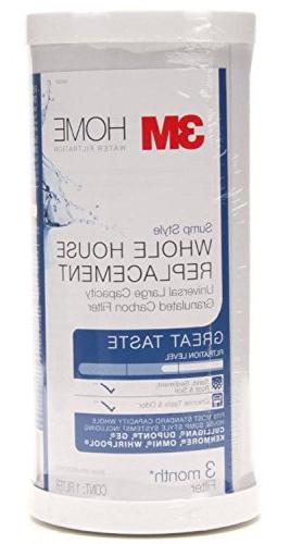 3M 4WH-HDGAC-F01H Whole Carbon Water Filter - Universal - Fits Most Brand