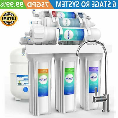 6 stage reverse osmosis drinking water purifier