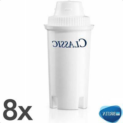 8 x classic water filter jug cartridges