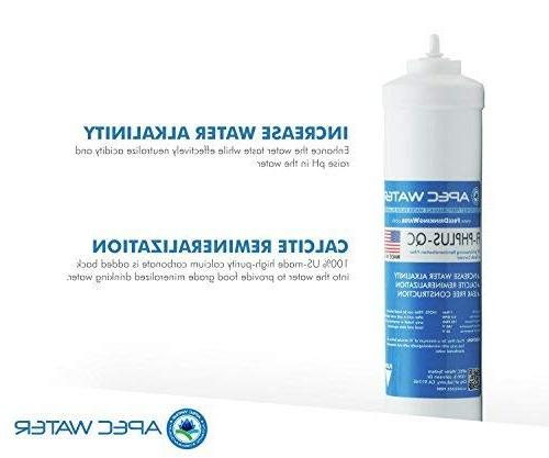APEC Top Tier Mineral pH+ 6-Stage Osmosis Drinking System