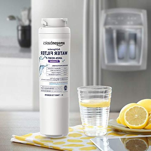 AmazonBasics Replacement Refrigerator Filter- Filtration