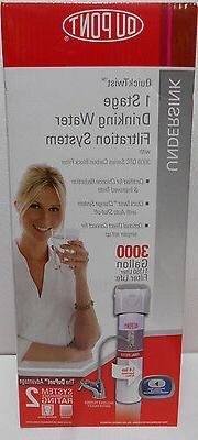 DuPont WFQT130005 Quicktwist Single Stage Drinking Filtratio