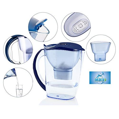EHM ULTRA Premium Water Pure Healthy Water Ionizer With Activated Carbon - Healthy, Clean Toxin-Free Mineralized Alkaline In Minutes - PH 8.5 - 9.5 - 2019
