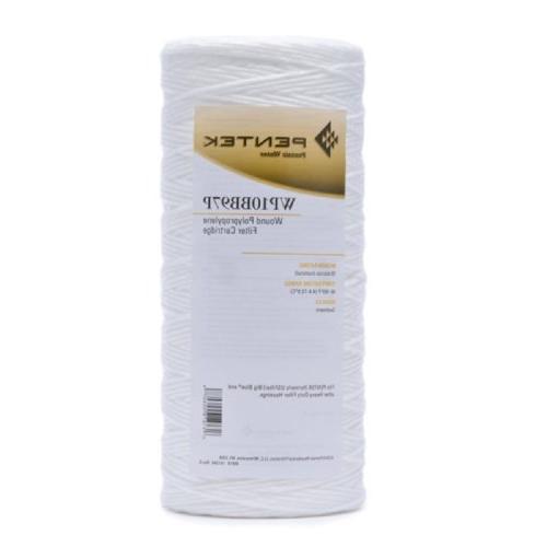 "Pentek WP10BB97P 10"" micro Wound Polypropylene Water Filter"