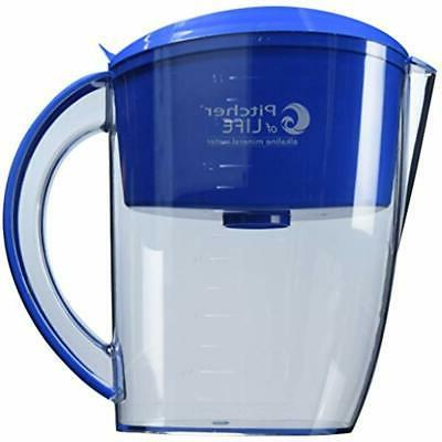 alkaline pitcher water filters of life 3
