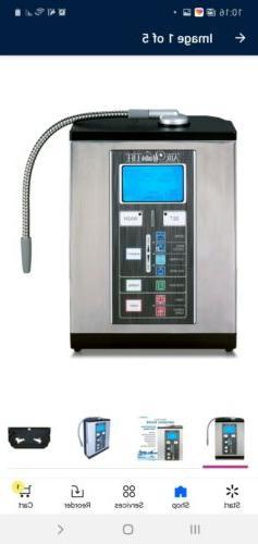 Alkaline Water Ionizer Machine Silver Filtration System for