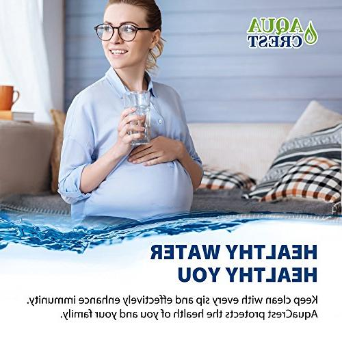 AQUACREST Water Compatible 4396508 Filter W10186668,