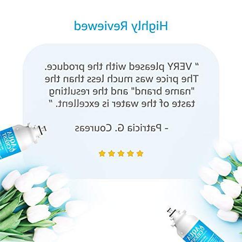 AQUACREST Refrigerator Filter, Compatible ADQ73613401, ADQ73613402, 46-9490