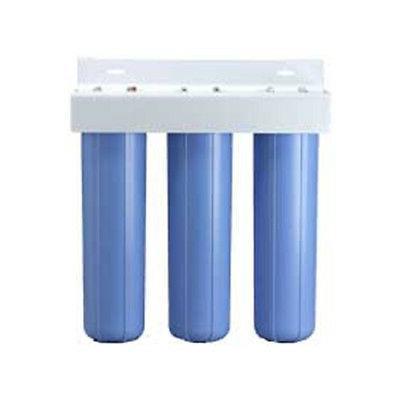 Pentek BBFS-222 Three Big Blue 20 Inch Housing Filter System