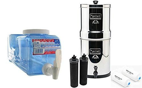 big bk4x2 countertop water filter