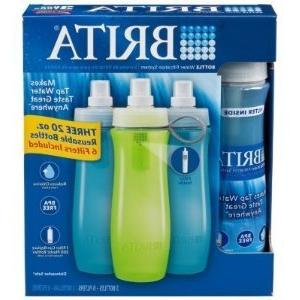 bottle water filtration system three