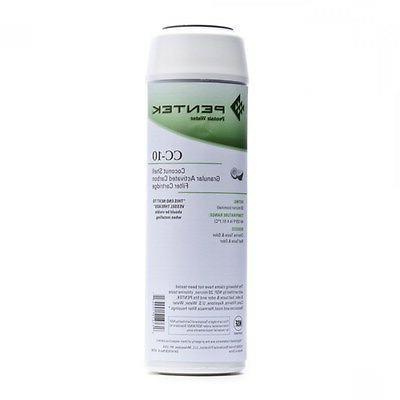 "Pentek CC-10 Coconut Carbon GAC 10"" Standard Water Filter 20"