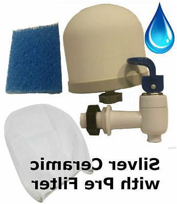 Ceramic Water Filter Kit for DIY Purifier by SHTFandGO