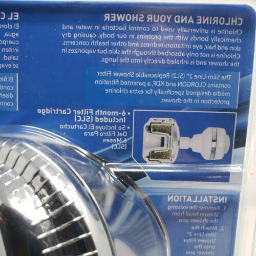 Sprite Slim-Line Shower Filter A Date SL-CM