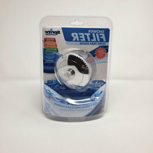 chrome slim line 2 shower filter