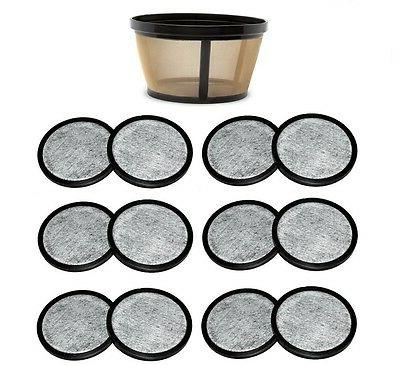 10-12 Cup  Coffee Filter & 12 Water Filters for Mr. Coffee C