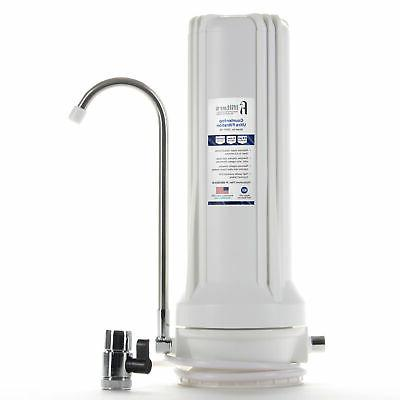 countertop ultra drinking water filter for vocs