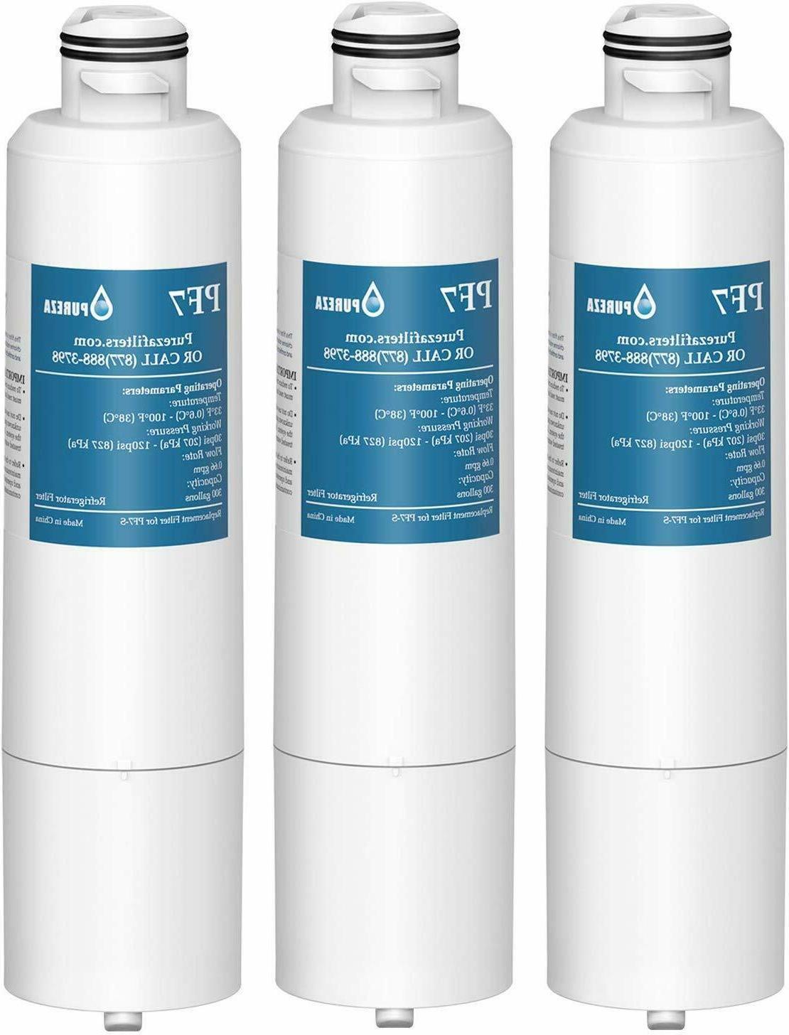 3pcs refrigerator water fit samsung hafcin da97